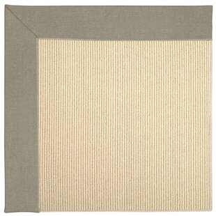Lisle Machine Tufted Buff Indoor/Outdoor Area Rug by Longshore Tides