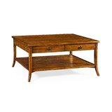 Coffee Table with Storage by Jonathan Charles Fine Furniture