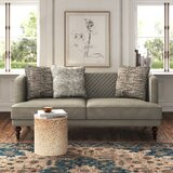 Brigitte 81.5 Square Arm Sofa by Kelly Clarkson Home
