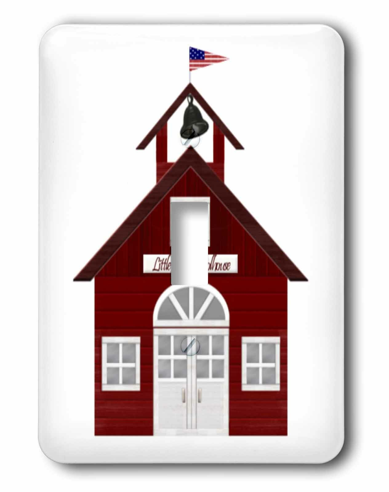 3drose Little Schoolhouse Single Toggle Light Switch Wayfair