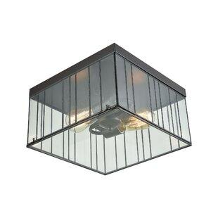 rectangular flush mount ceiling light rectangle byford 2light flush mount modern squarerectangle lighting allmodern