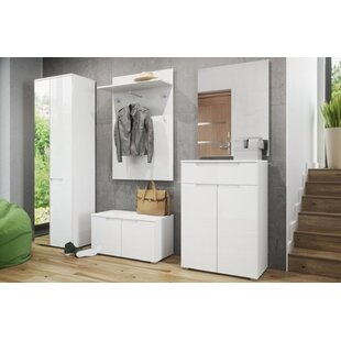 Socorro 1 Drawer Combo Dresser with Mirror