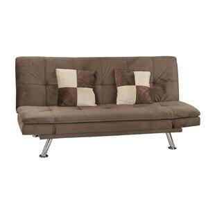 Zipcode Design Louella Fabric Sleeper Sofa with 2 Pillows