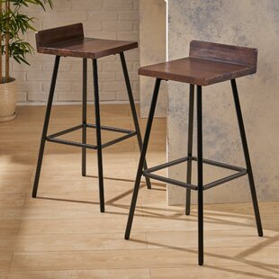 Online Reviews Champagne 30 Bar Stool (Set of 2) by Williston Forge Reviews (2019) & Buyer's Guide
