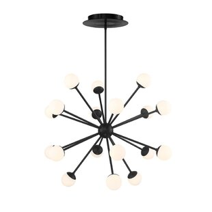 George Oliver Pellston 18-Light LED Sputnik Chandelier