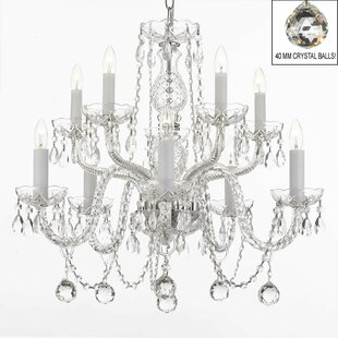House of Hampton Kelson 10-Light Candle S..