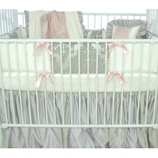 Online Reviews Pink Champagne Fitted Crib Sheet ByBlueberrie Kids