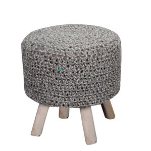 Corrales Fabric Ottoman by Mistana