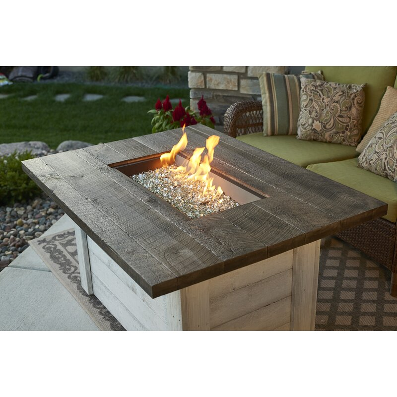 The Outdoor Greatroom Company Alcott Stainless Steel Concrete