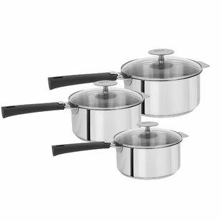 Mutine Stainless Steel Saucepan Set