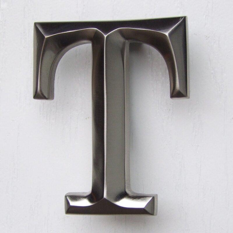 Letter Monogram Door Knocker & Michael Healy Designs Letter Monogram Door Knocker u0026 Reviews | Wayfair