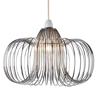 Easy fit chandelier wayfair wire easy fit 33cm metal novelty pendant shade aloadofball Gallery
