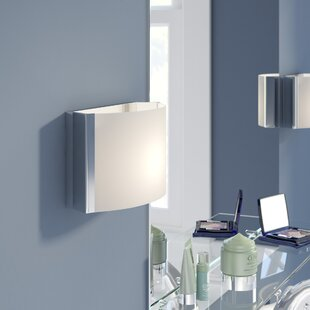Orren Ellis Lottie 1-Light LED Bath Sconce