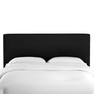 Hetherington Upholstered Panel Headboard by Mercury Row