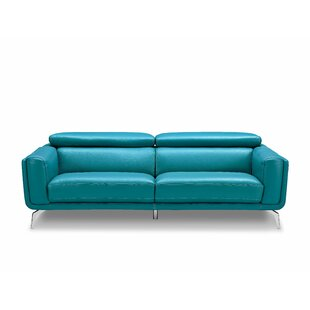 Lora Leather Sofa by Orren..