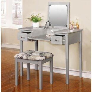 Gentil Saw Works Vanity Set With Mirror