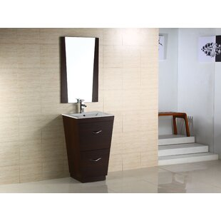 Cheryton 21 Single Modern Bathroom Vanity Set By Wade Logan