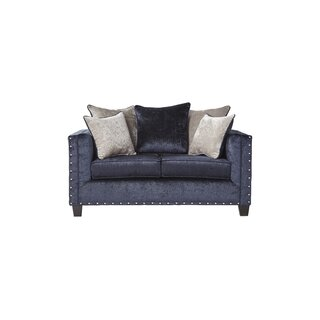 Whitbeck Midnight Loveseat by Gracie Oaks SKU:DD486691 Buy