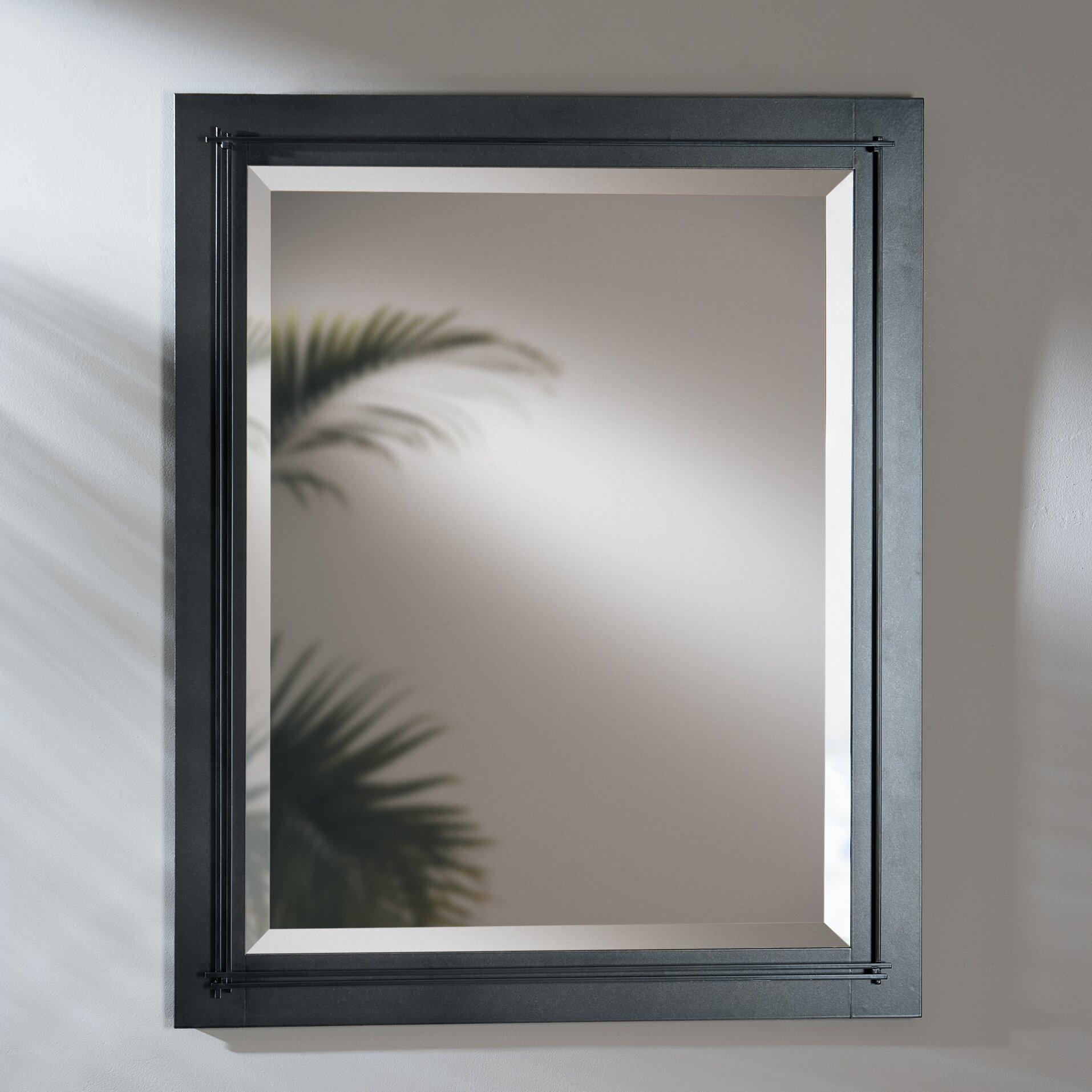 Hubbardton Forge Metra Modern And Contemporary Beveled Bathroom Vanity Mirror Wayfair