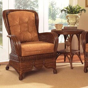 Moroccan Wingback Chair
