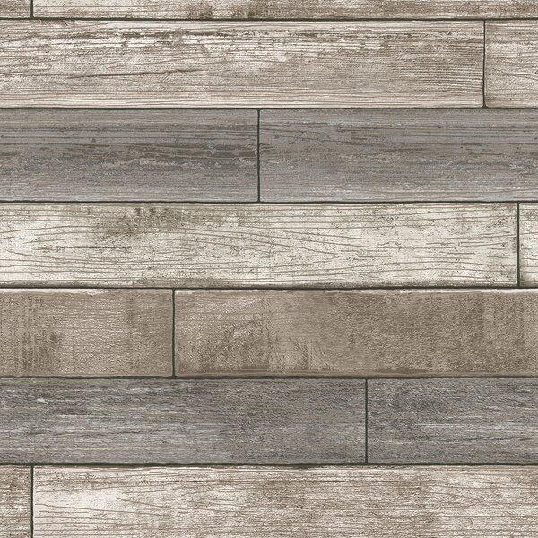 Nu 18 X 20 5 Reclaimed Wood Plank Wallpaper Roll