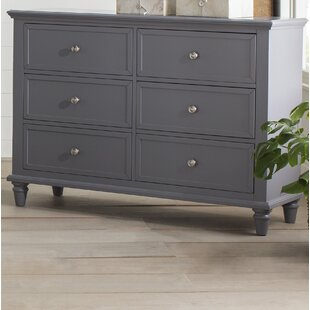 Rae 6 Drawer Double Dresser