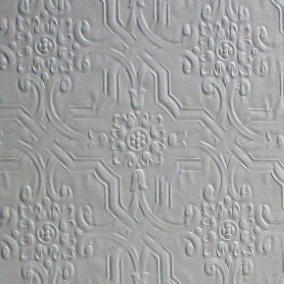 "Anaglypta Paintable Berkeley Original 33' x 20.5"" Damask 3D Embossed Wallpaper Brewster Home Fashions"