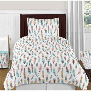 Feather Comforter Set