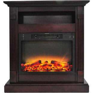 Sacha Electric Fireplace by Loon Peak