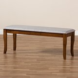 Boothville Upholstered Bench by Red Barrel Studio®