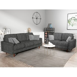 Logan 2 Piece Living Room Set by Turn on the Brights