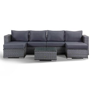 4 Seater Rattan Sofa Set By Sol 72 Outdoor