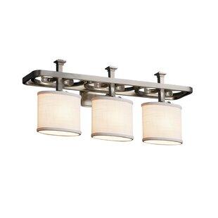 Ebern Designs Favela Arcadia 3 Light Oval Vanity Light
