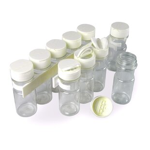 10 Jar Spice Jar & Rack Set by SpiceStor