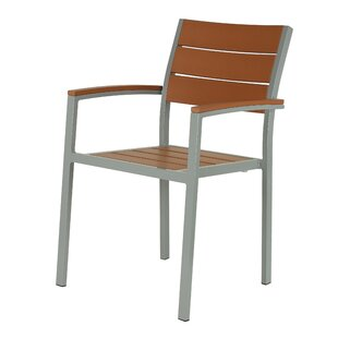 Avery Stacking Patio Dining Chair (Set of 2)