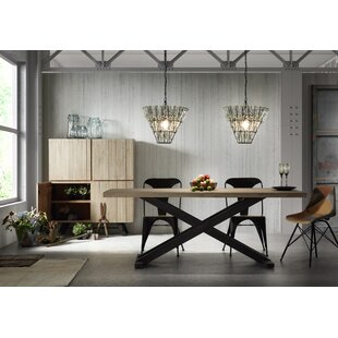 Burchette Cross Dining Table Set With 4 Chairs By Williston Forge