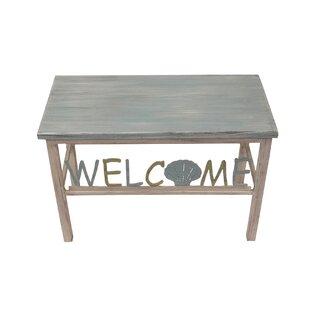 Inglesbatch Multi Shell Welcome Wood Benc..