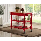 Crigger Kitchen Cart by Charlton Home®