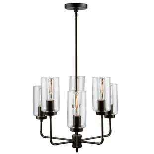 17 Stories Taurla 6-Light Shaded Chandelier