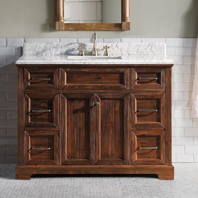Millwood Pines Foye 48 Single Bathroom Vanity Set Wayfair
