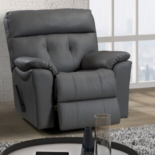 Sabrina Leather Power Rocker Recliner