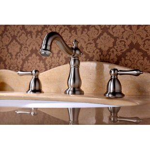 Best Apogee Widespread faucet Bathroom Faucet with Drain Assembly By Lenova