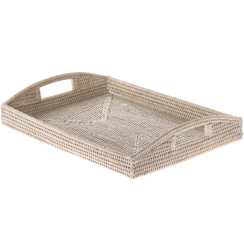 Telford Rectangular Handwoven Serving Tray
