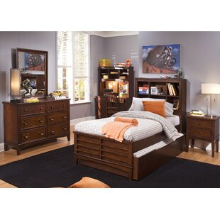 Virginia Youth Bedroom Panel Headboard in Burnished Tobacco By Grovelane Teen