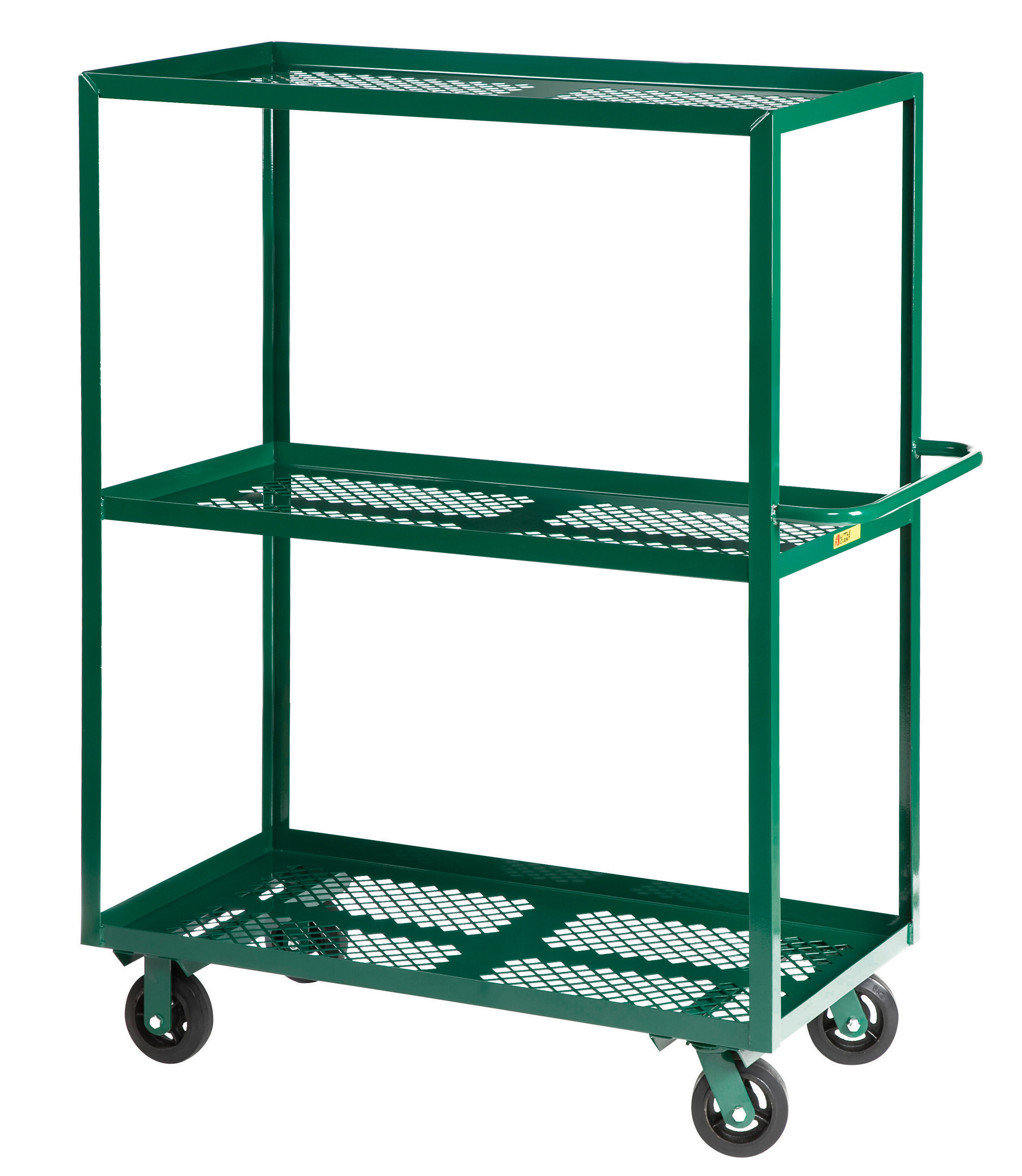 Little Giant Usa 30 X 65 5 Multi Shelf Steel Utility Cart Wayfair