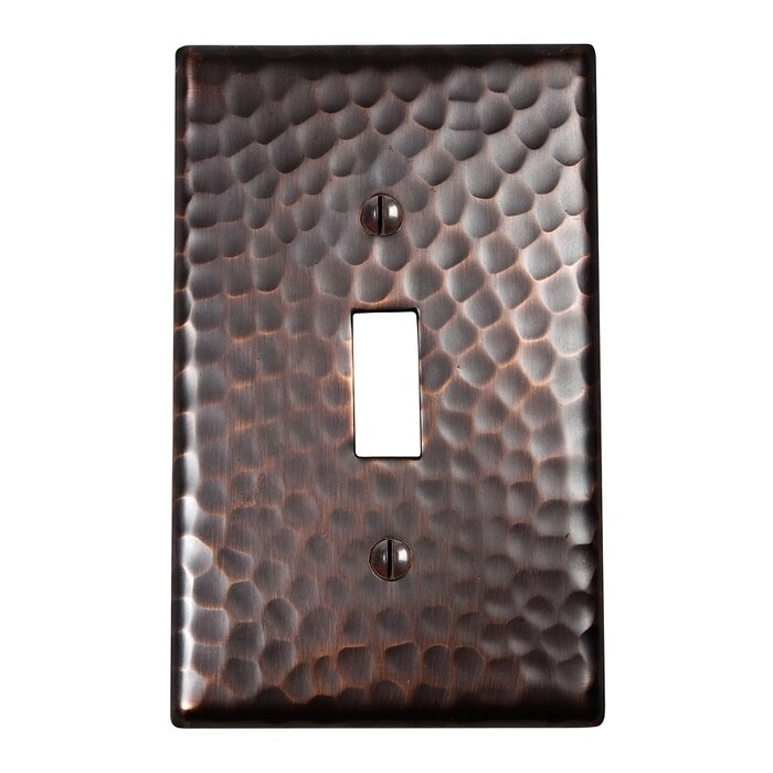 1 Gang Toggle Light Switch Wall Plate