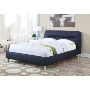 Reginia Upholstered Panel Bed