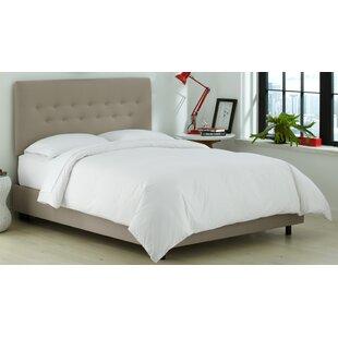 Whiteway Upholstered Panel Bed by Brayden Studio