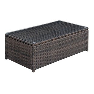 Winthrop Rattan Coffee Table
