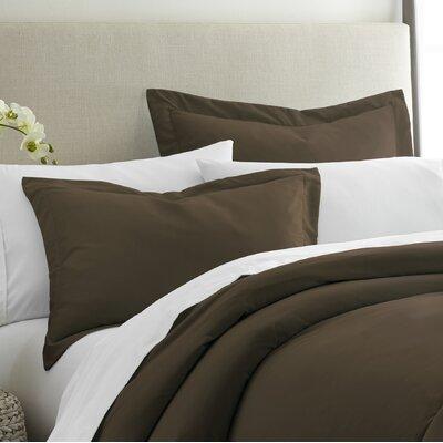 Imogene Premium Ultra Soft Pillow Sham Alcott Hill Size: King, Color: Chocolate